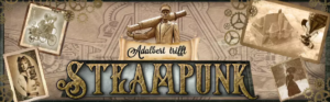 Logo Adalbert trifft Steampunk