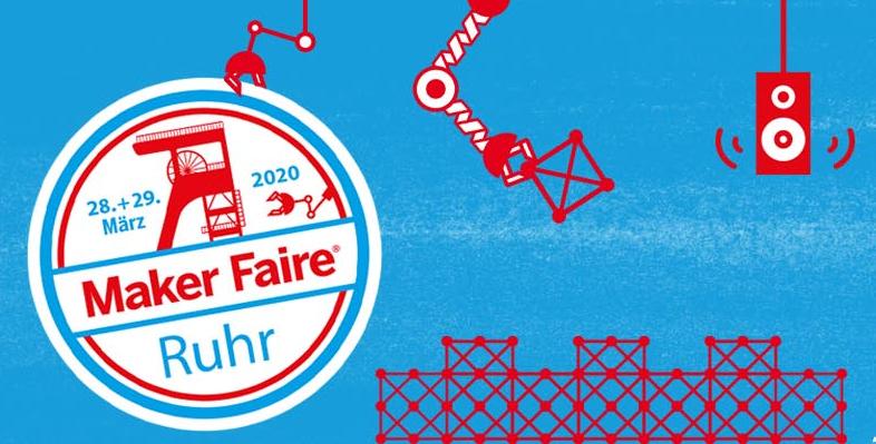 Veranstaltungslogo Maker Faire Ruhr